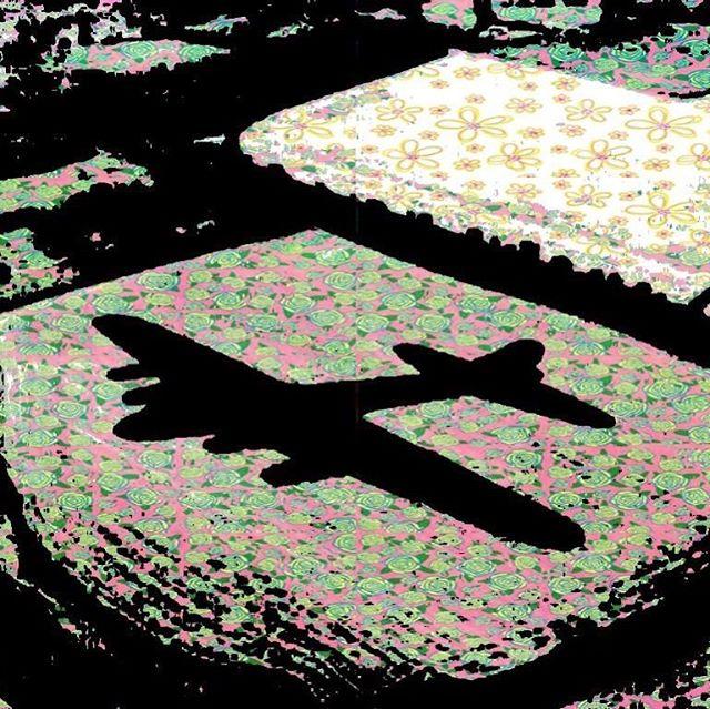 Nap la.... plane?  #psychedelic #psychedelicart #indieband #plane #albumcover
