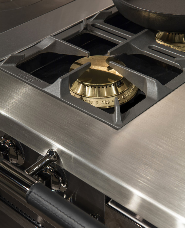 SOLID BRASS BURNERS – CUSTOM EXTENDED WORK SURFACE
