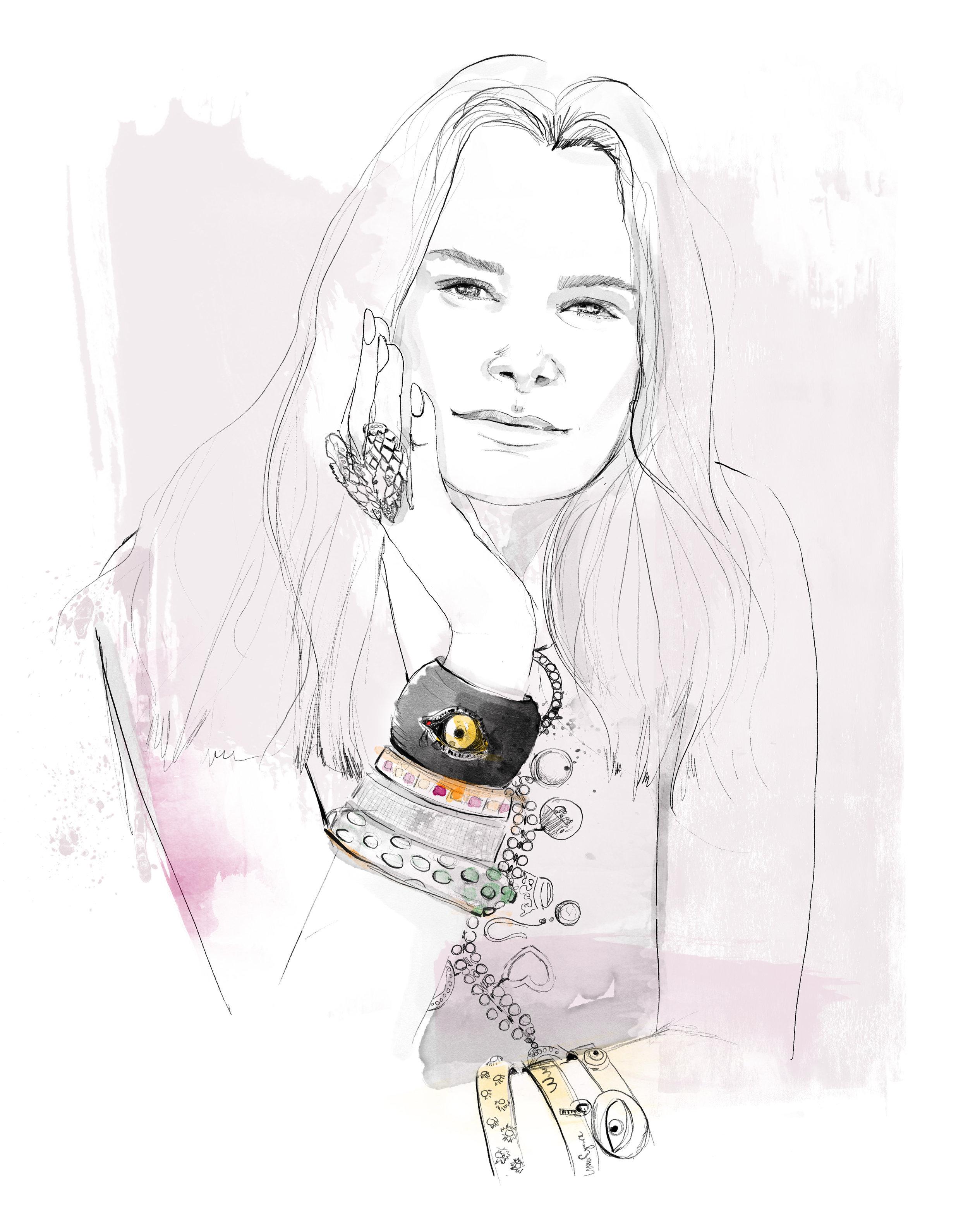 Clarissa Bronfman (jewlery designer)