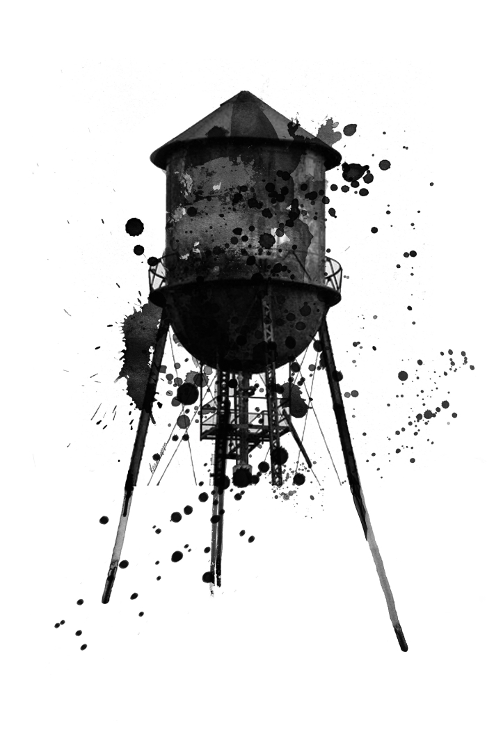 Watertower in Brooklyn