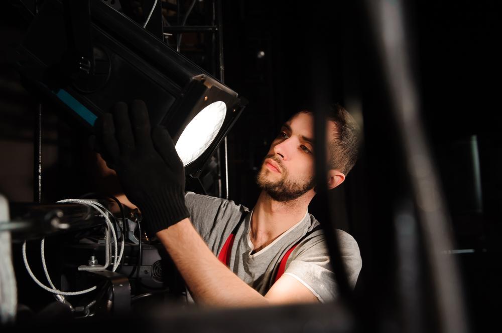 technicien lumiere