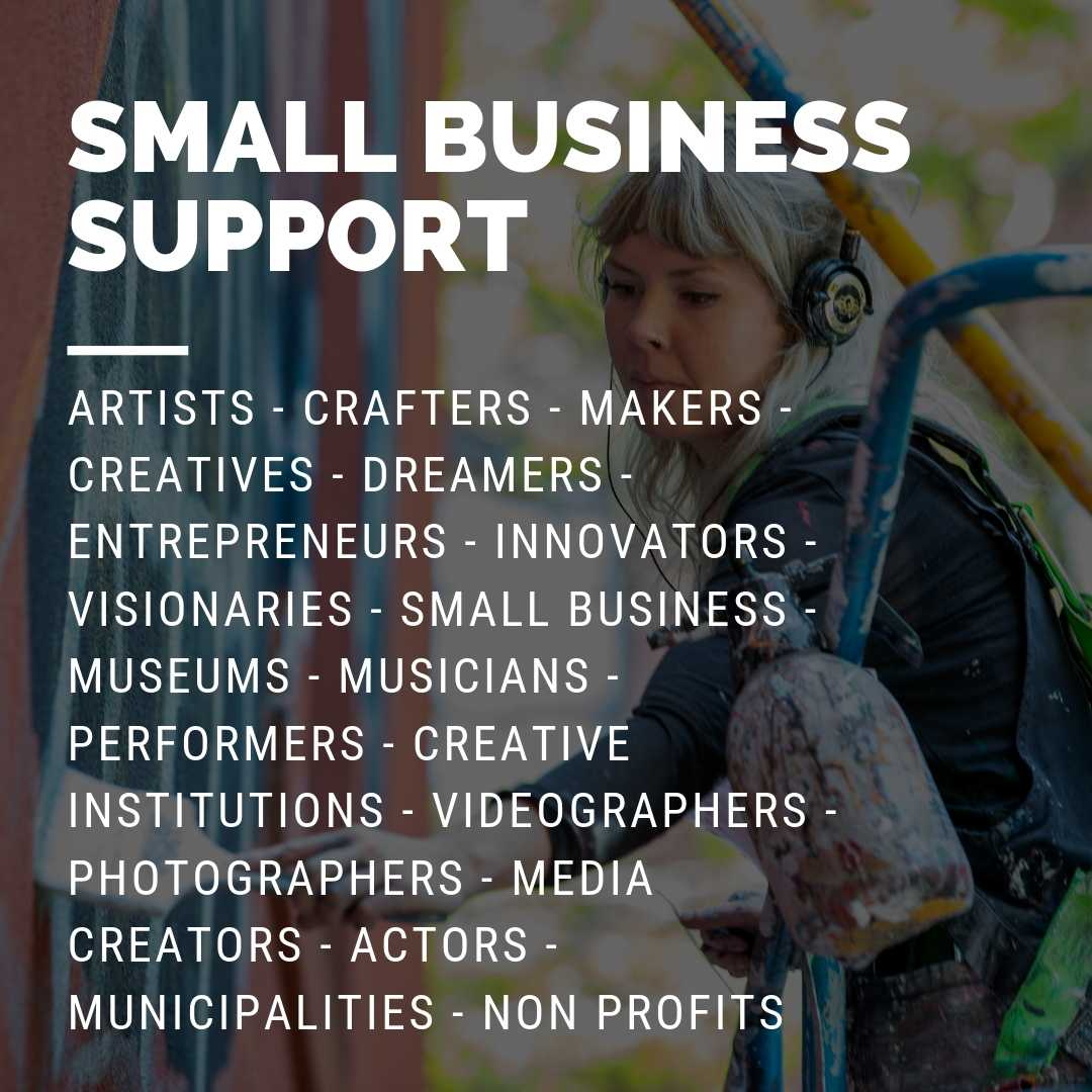 Creative Collective Small business Support