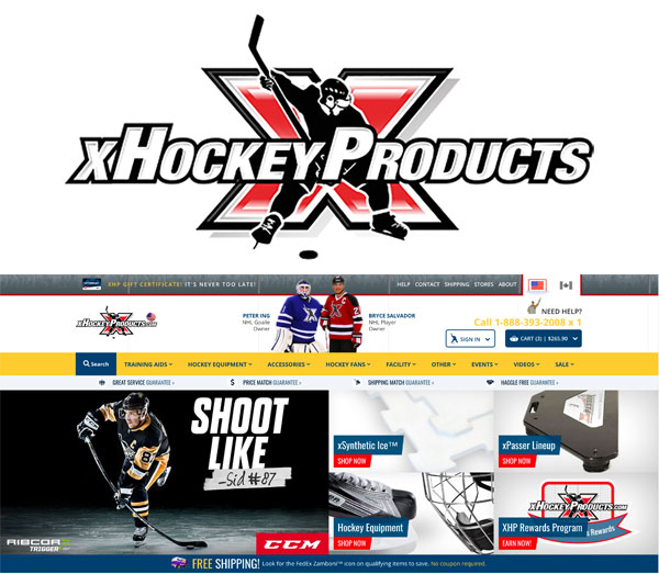 - xHockeyProducts was founded by professional athletes who know what it takes to reach the highest levels of sport. We are passionate about the great game of hockey and strive to create awareness to grow it from a grass-roots level. As current and former players, we do not underestimate our role as ambassadors. Through interactive experiences our goals are for fans of the game to have fun and for players to be challenged; and through training products we genuinely wish to help athletes attain their full potential.