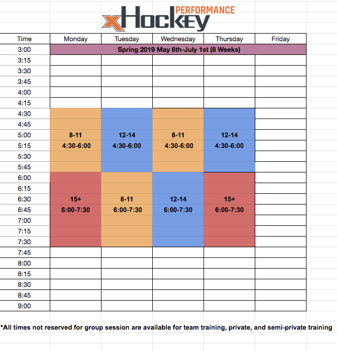 XHP Spring 2019 Off-Ice Schedule.png