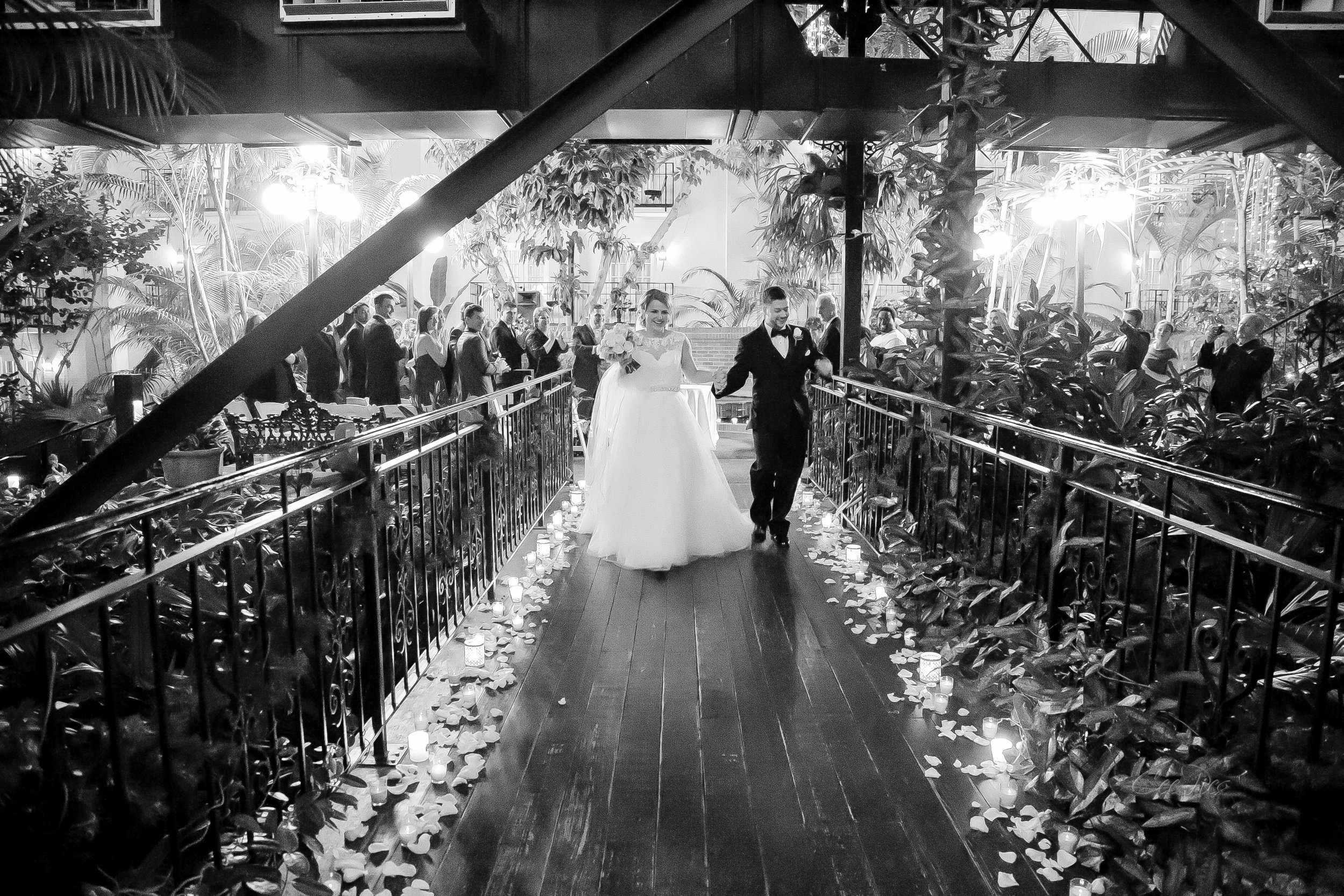 Brittany and Wes, Opryland Hotel, Nashville