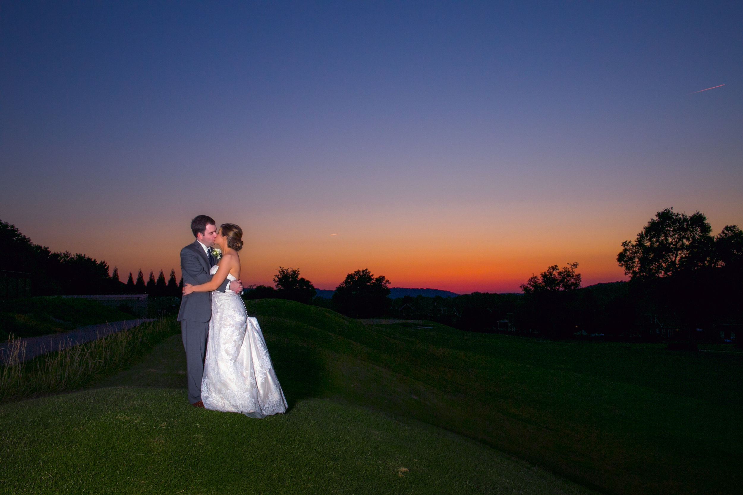 Rebecca and Hunter, Old Natchez Country Club, Brentwood TN