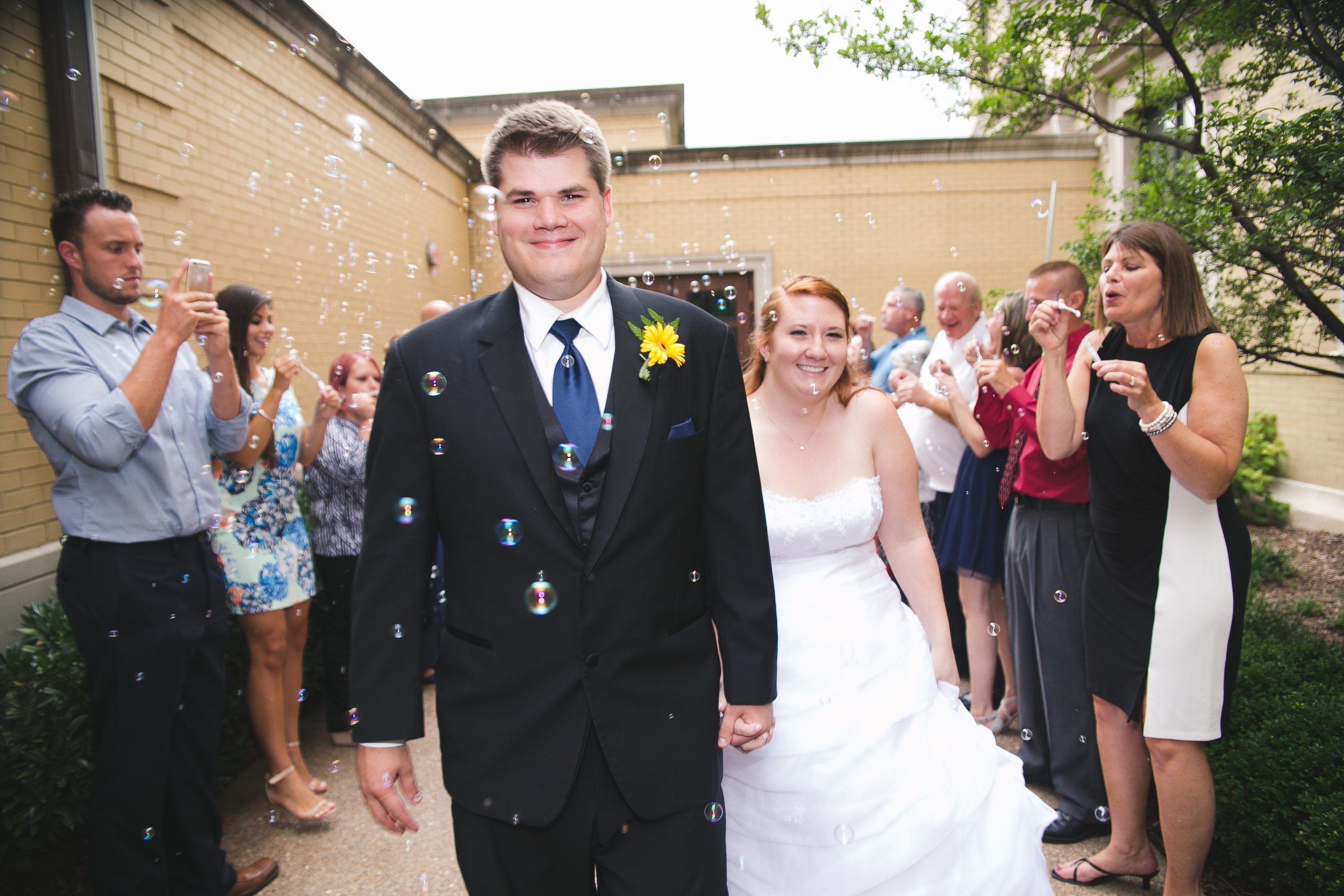 Loren and Josh, Cathedral of the Incarnation, Nashville TN