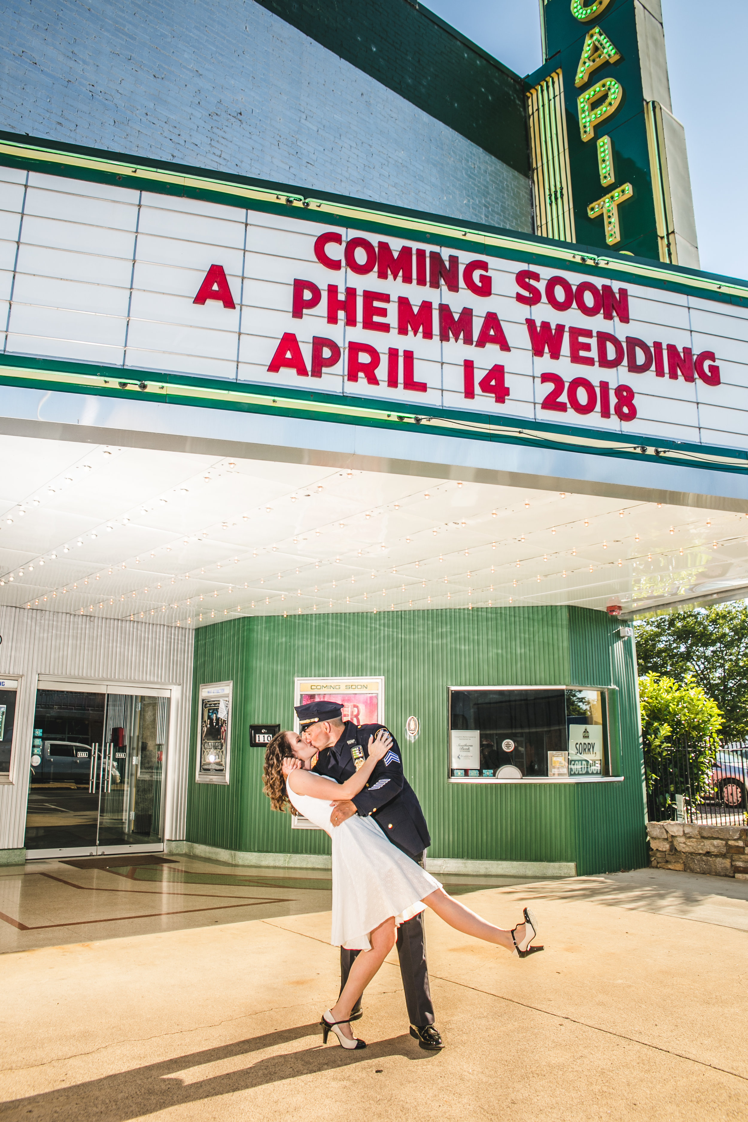Emma and Phil, Capitol Theater, Lebanon
