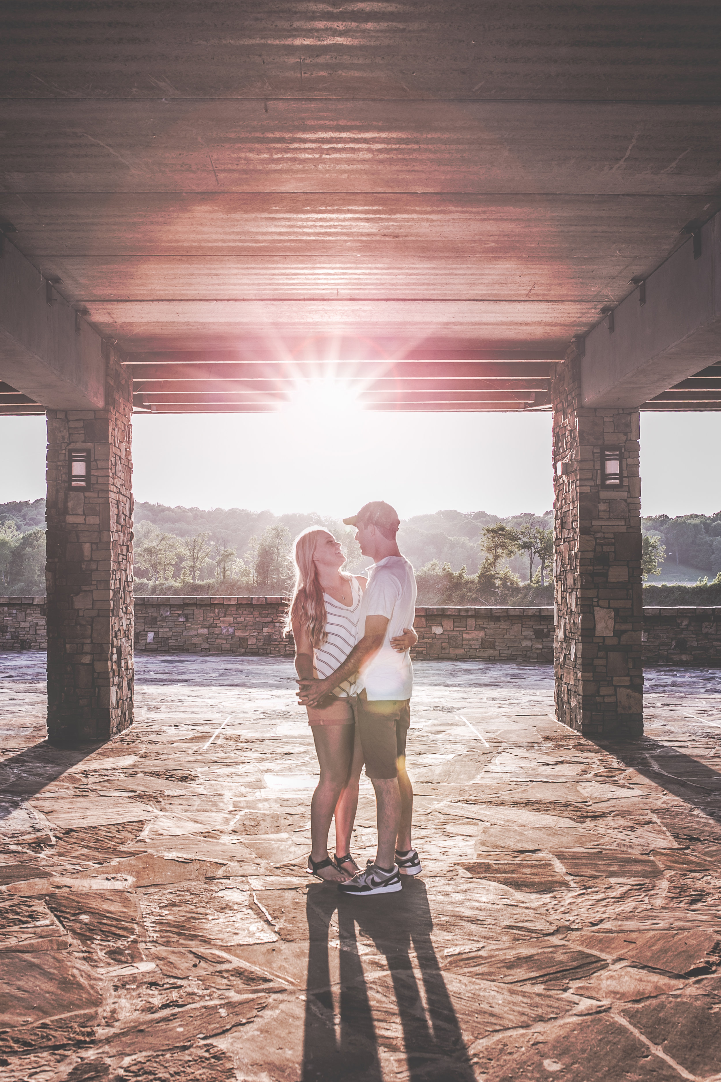 Cassidy and Brandon, Liberty Park, Clarksville