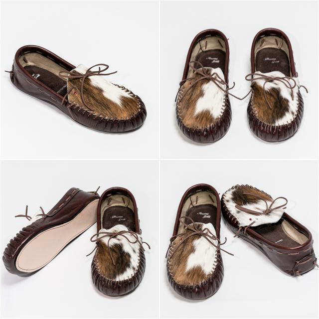 Chocolate Brown Cowhide shoe square Instagram.jpg