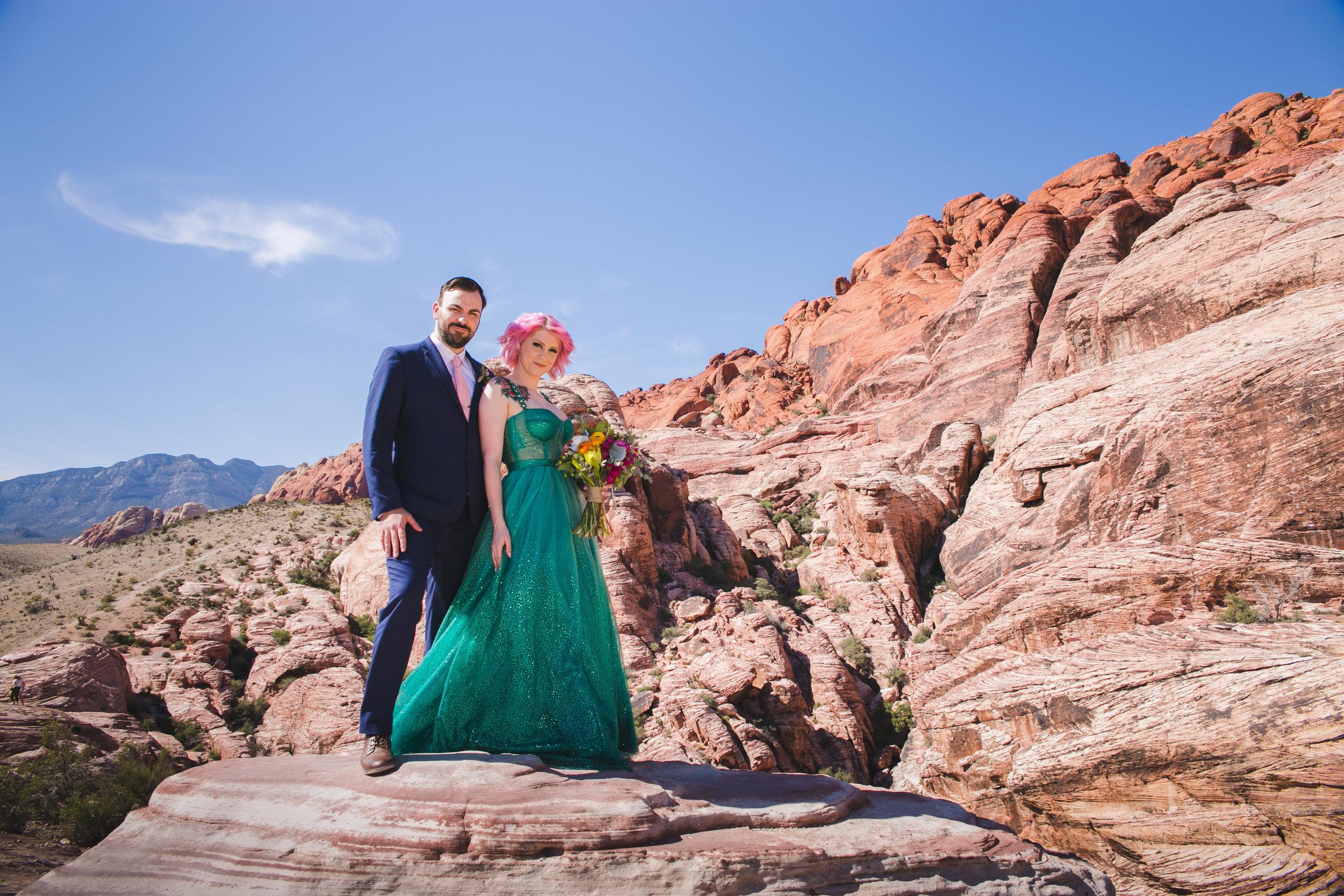 Red Rock Canyon - Whitney & Greg - Las Vegas, NV
