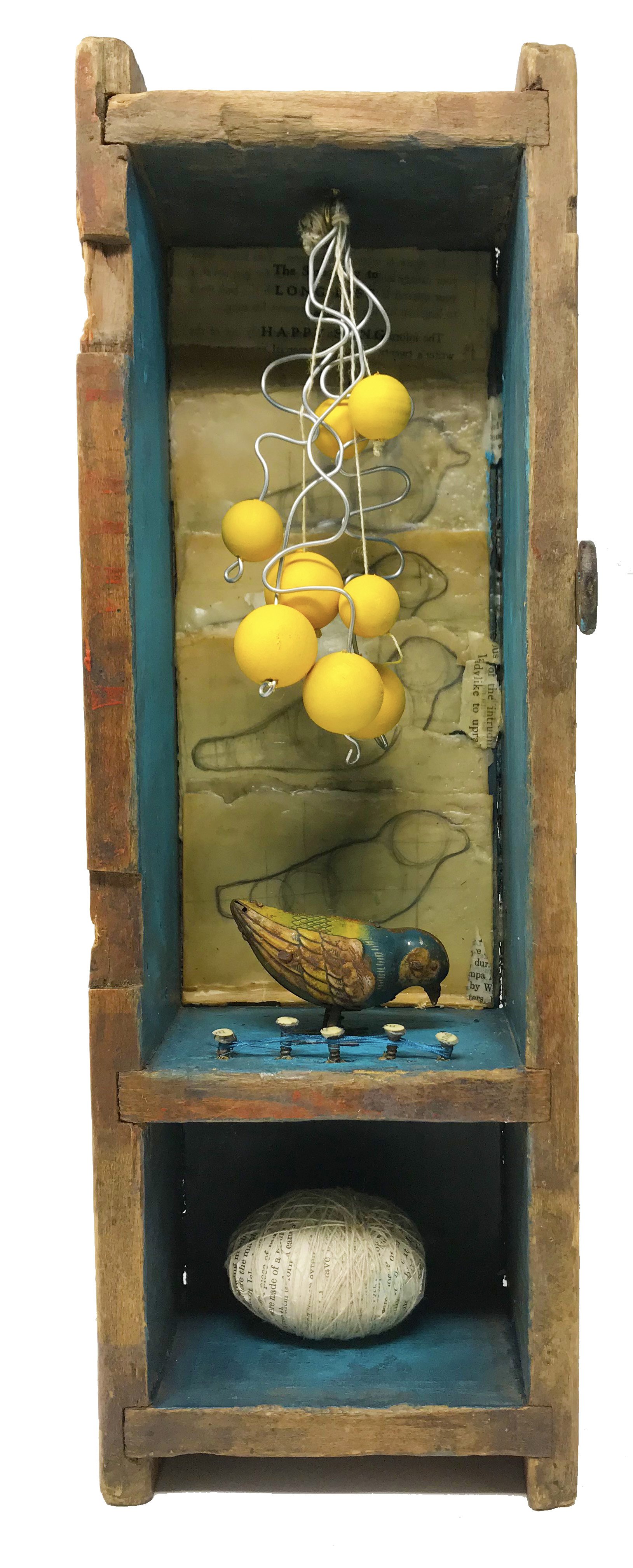 """Songs of Freedom #4 - Assemblage17"""" x 6"""" x 4SOLD"""