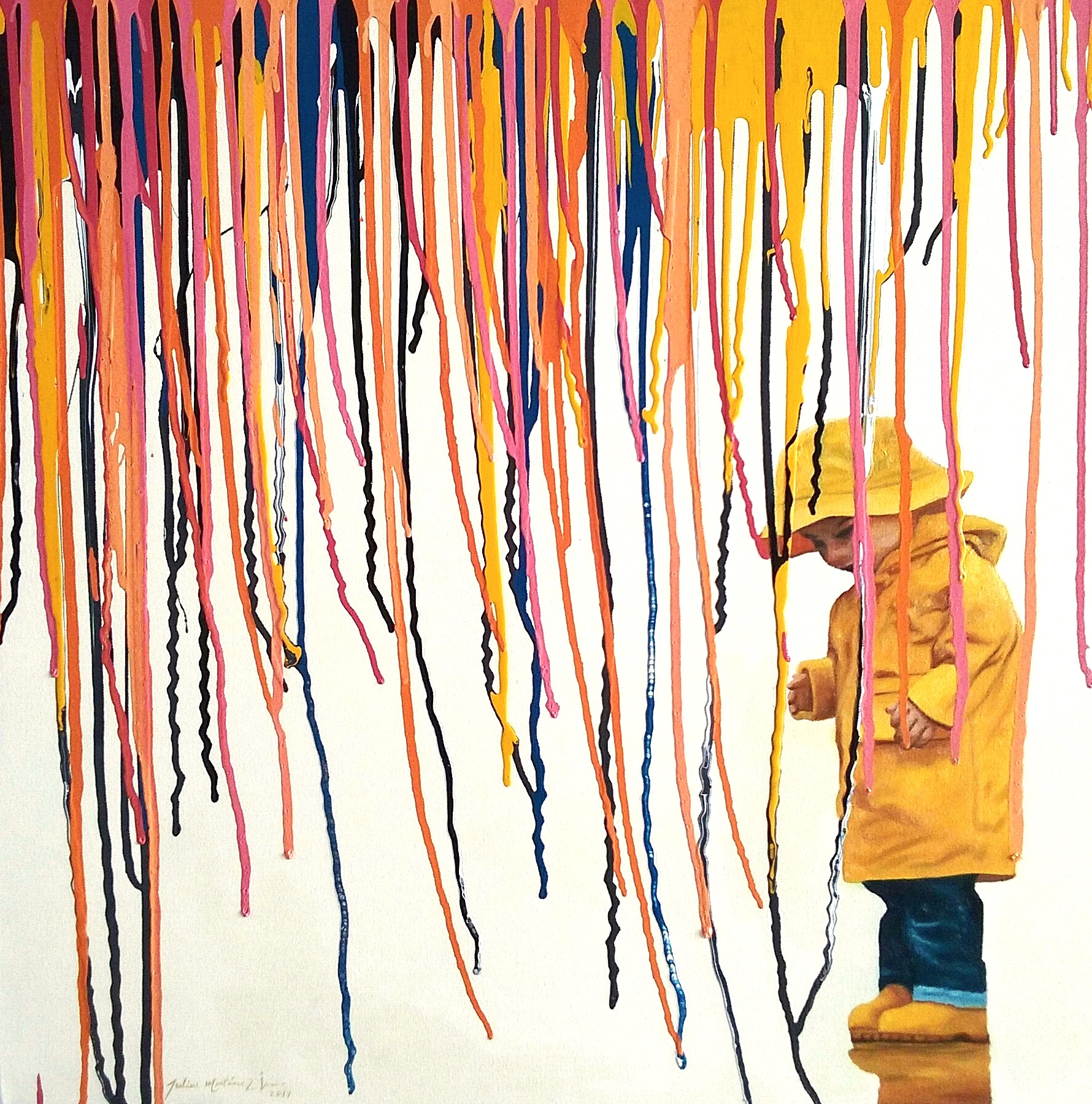 Paint Rain III - 28