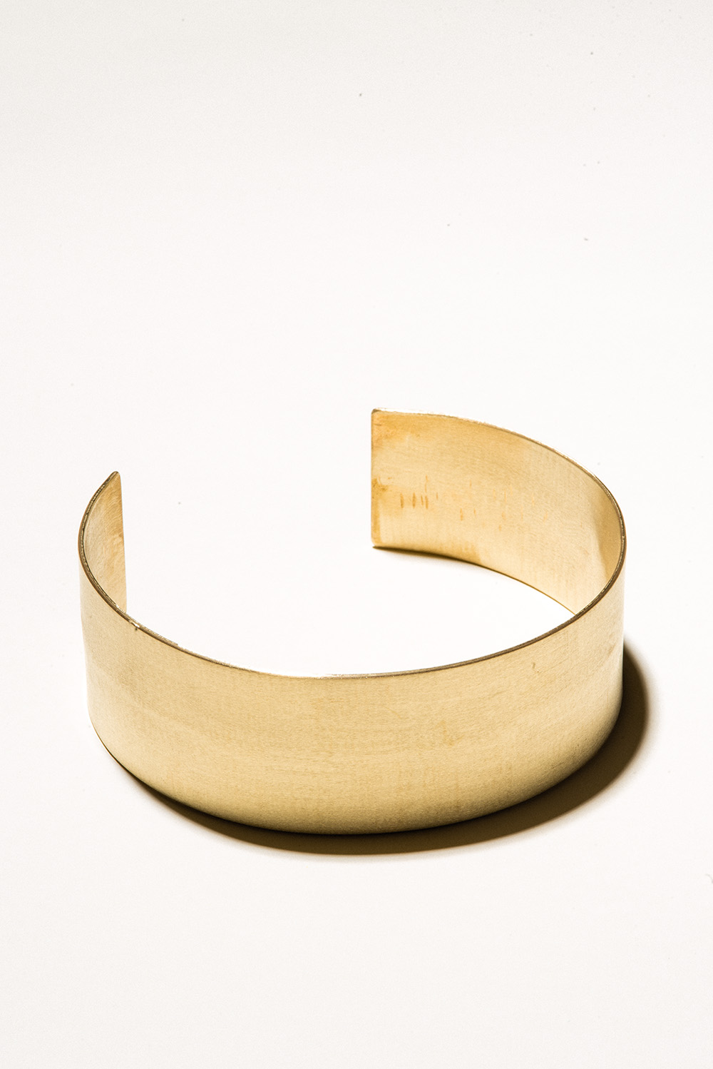 40 Brass Collar - 40mm wideJewelers Brass with Lacquer FinishHand Smithed$200