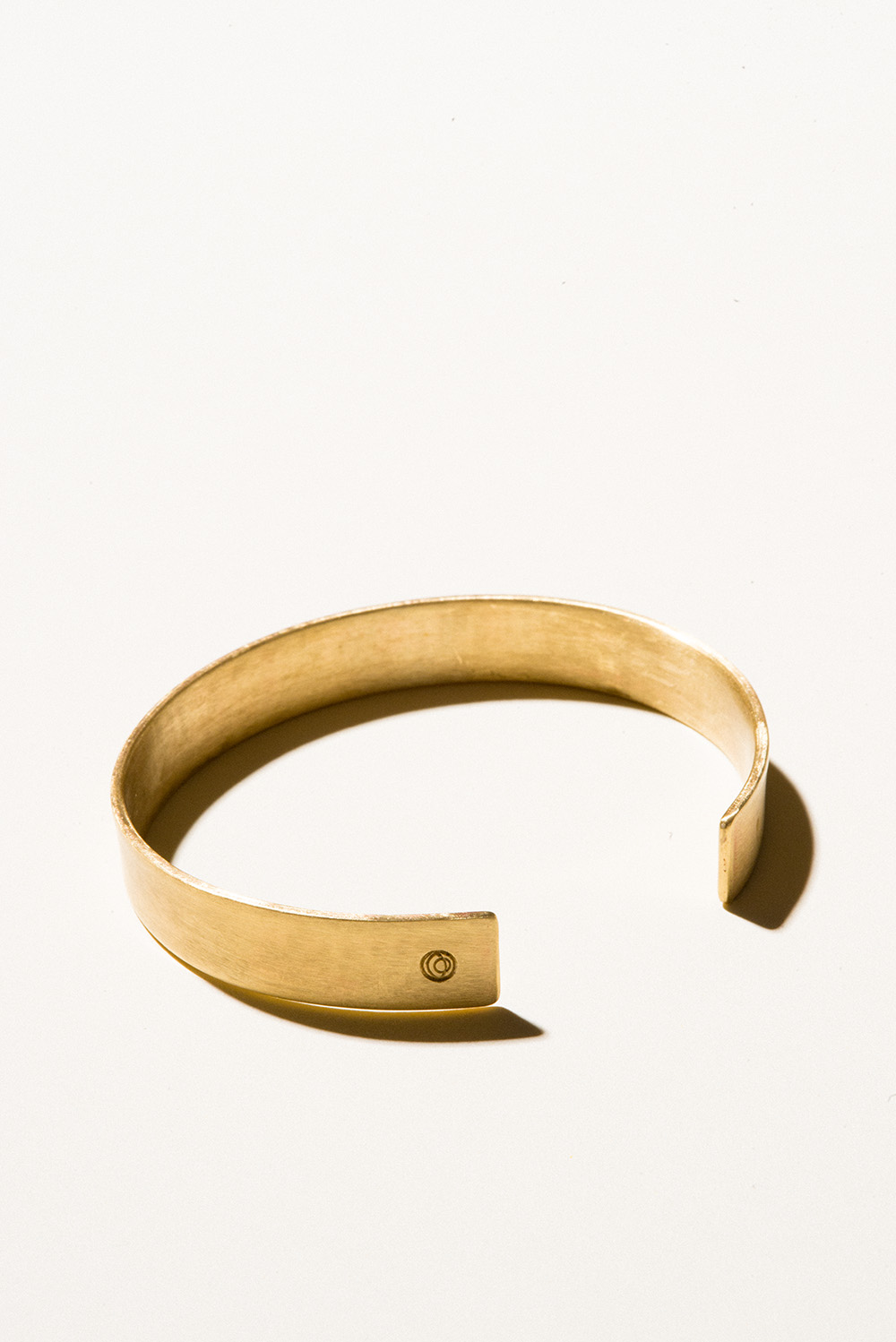10 Brass Cuff - 10mm wideJewelers Brass with Lacquer FinishHand Smithed$75