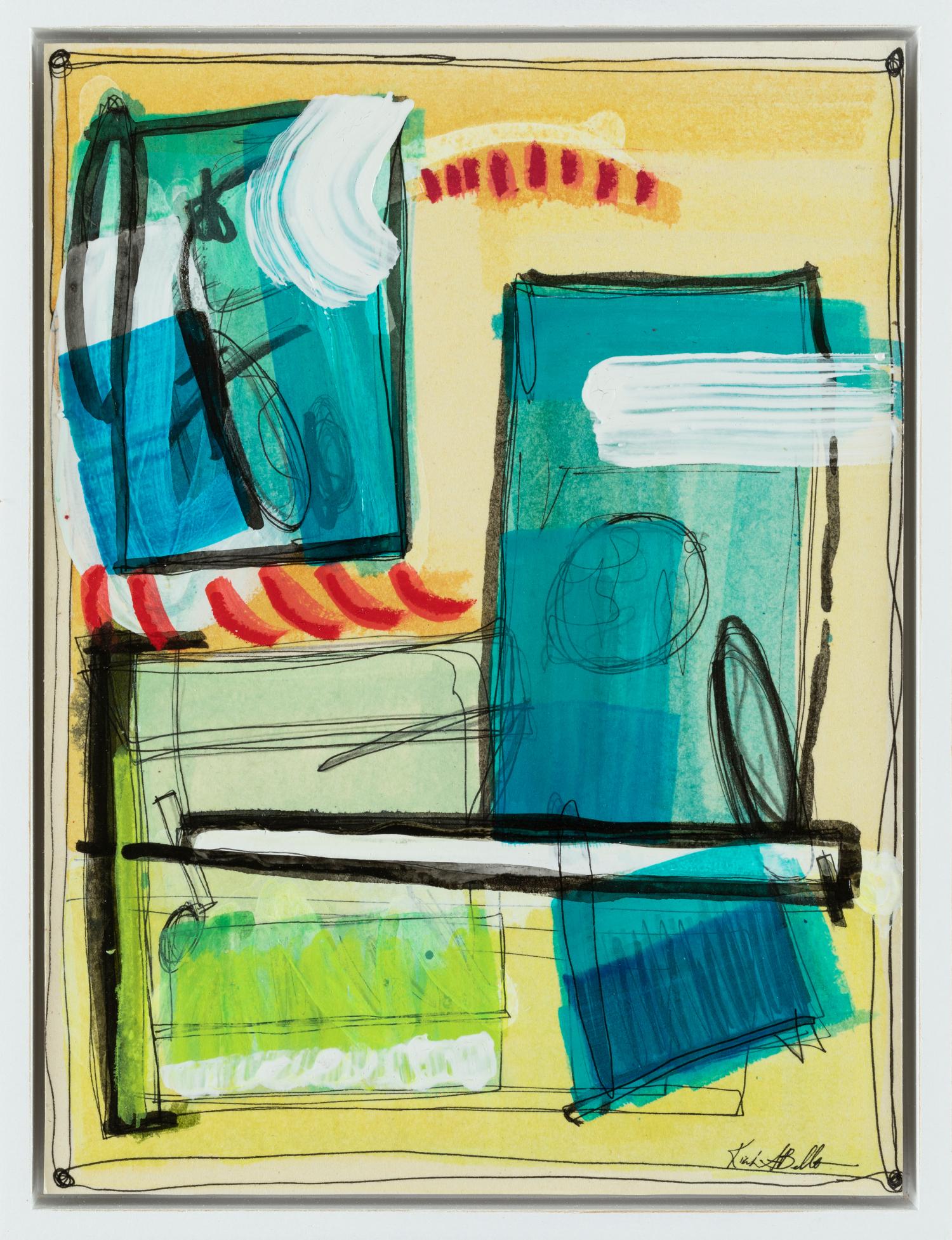 "Found Composition III - Kiah Bellows10"" x 13""Mixed media on board, framed$225"