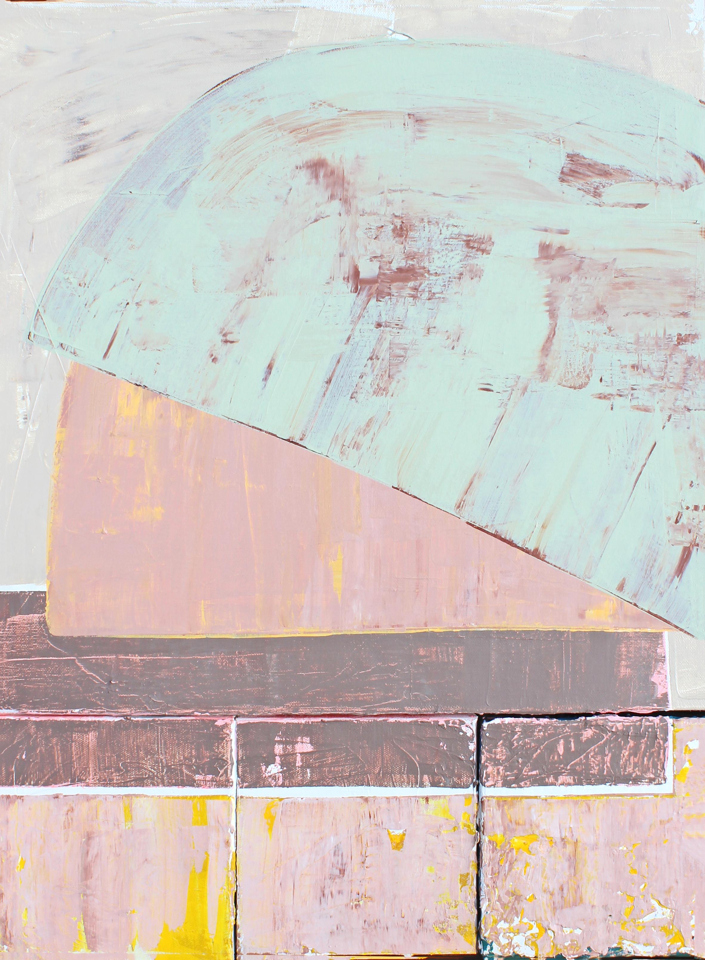"""Cache - 24"""" x 18"""" acrylic on canvas$1000"""