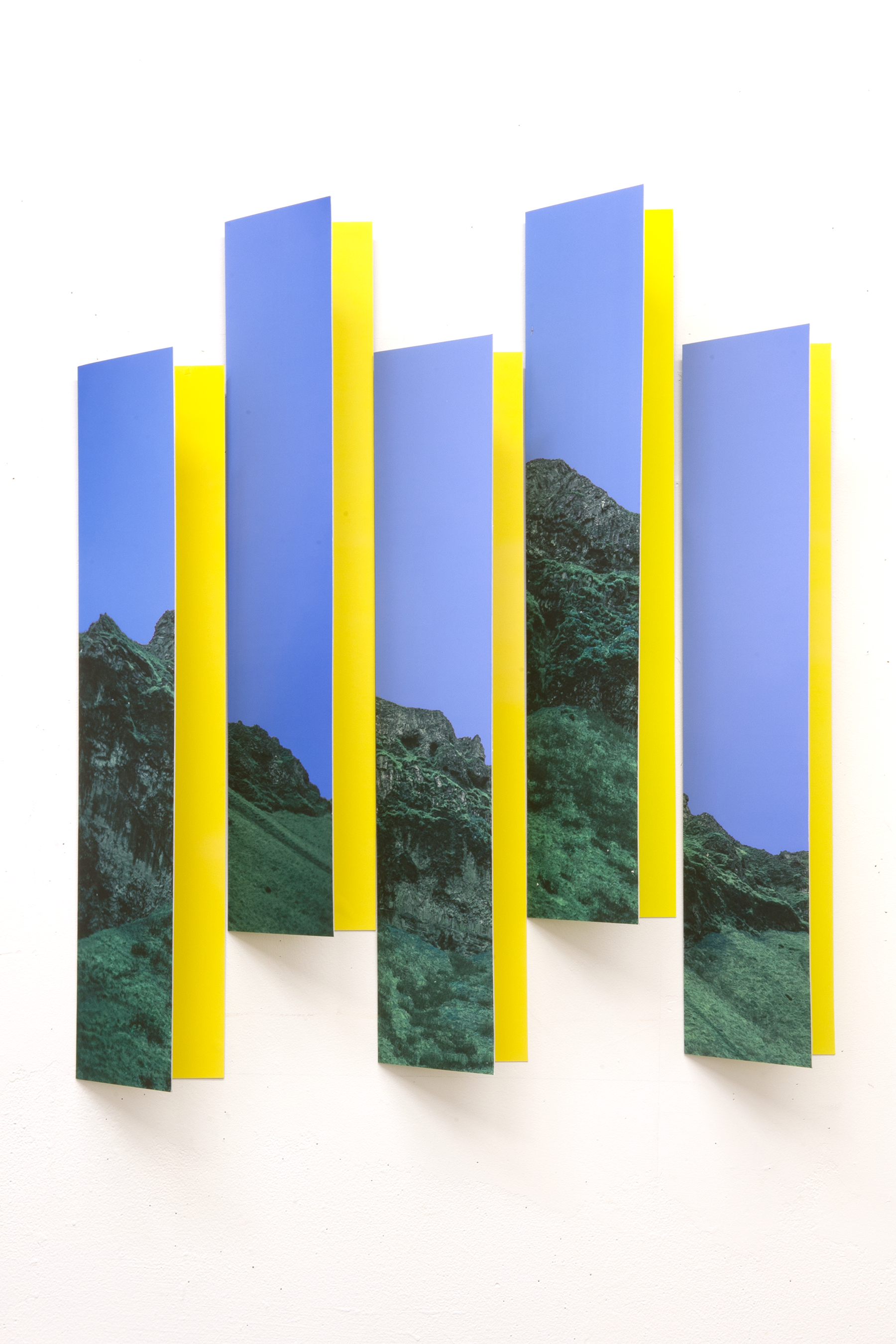"""Object//Image I - Mar Hester28"""" x 25"""" x 4"""" archival prints mounted to aluminum$1000"""