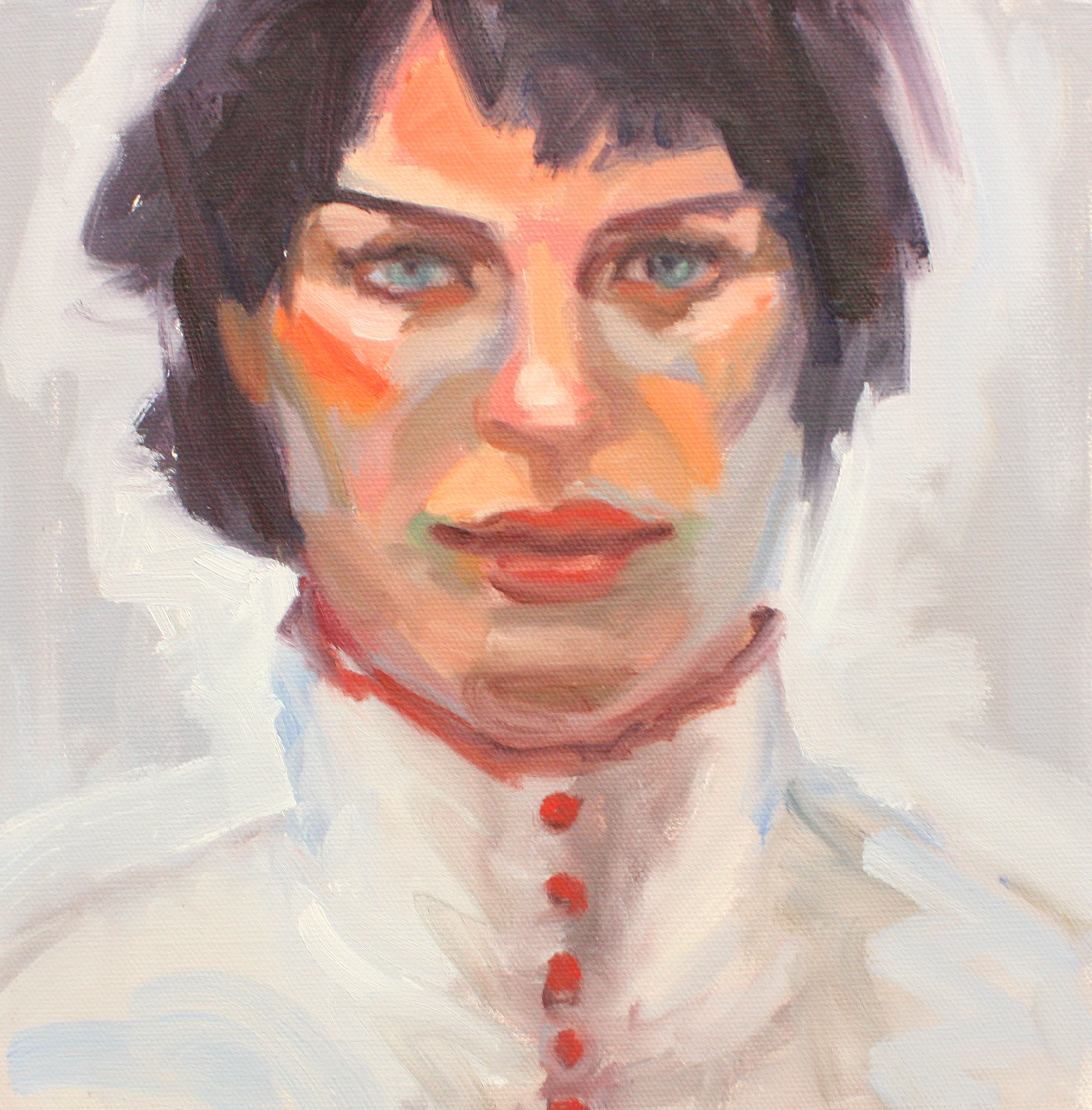"Portrait I - Jo Hay10"" x 10"" oil on canvas$1400"
