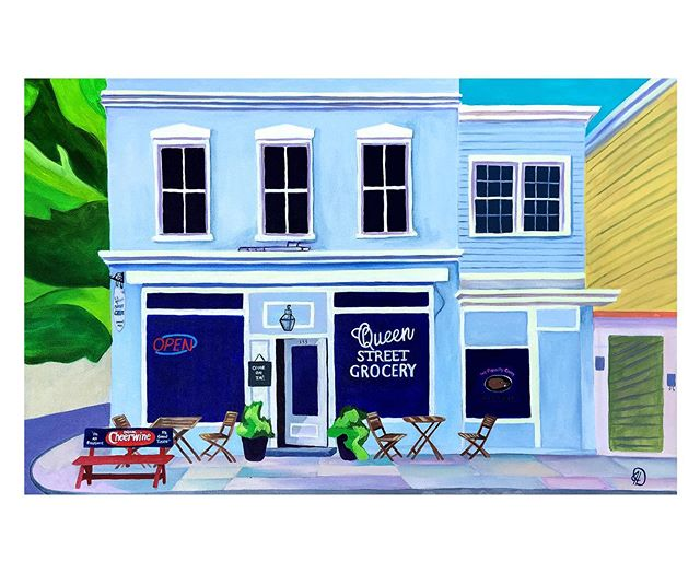 Happy Father's Day, Dads! Wishing you and your families a beautiful, love-filled day. We're open 11-5 if you finish up brunch and want to swing by! . . . . #happyfathersday #charleston #queenstreet #art #oilpainting #juliadeckman #downtowncharleston #iconic #emergingartist #localart #buyart #dadsloveart #father #dad #blue #architecture #love #collector #lowcountry