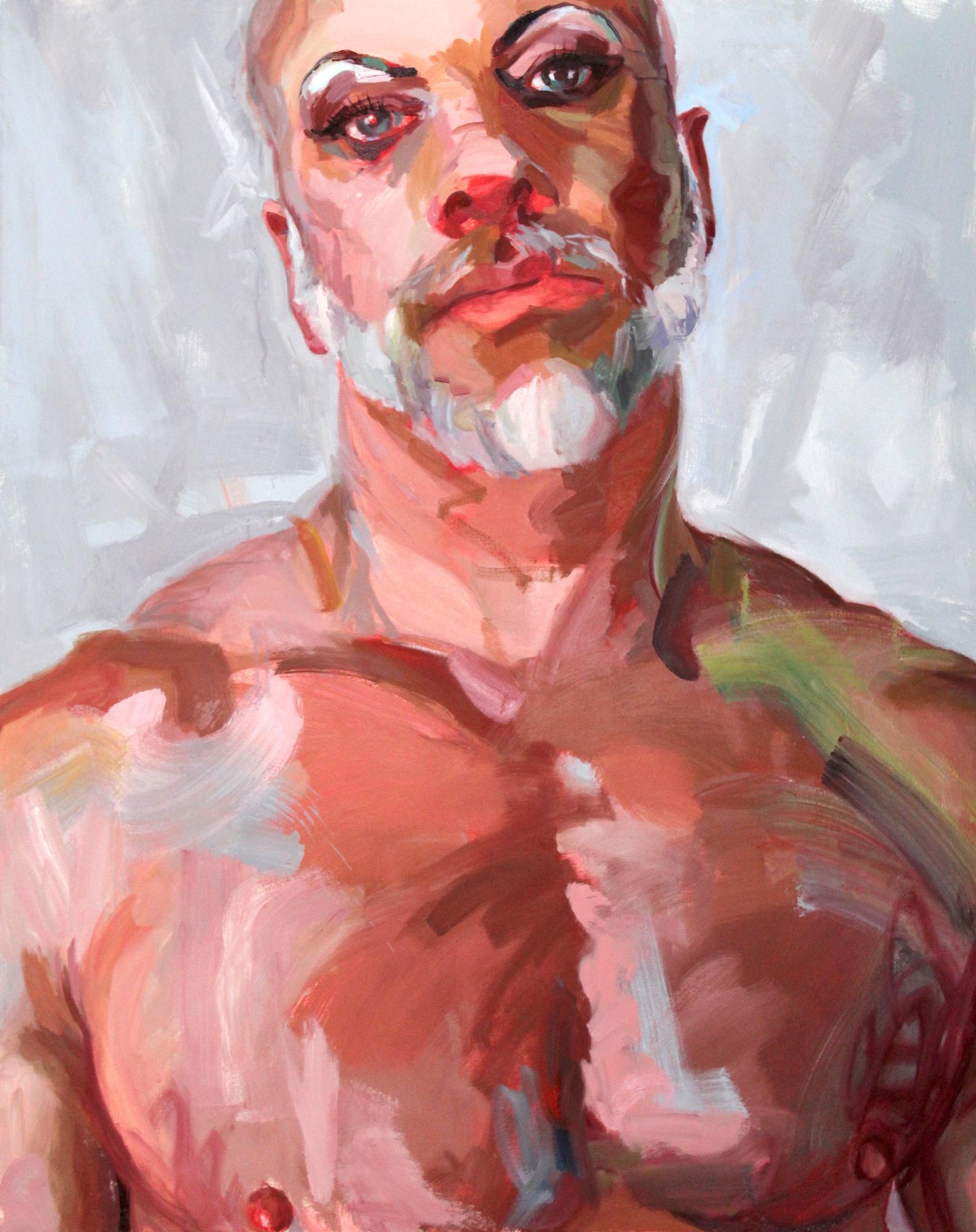 """Stallion - 60"""" x 48"""" oil on canvas$12,500"""