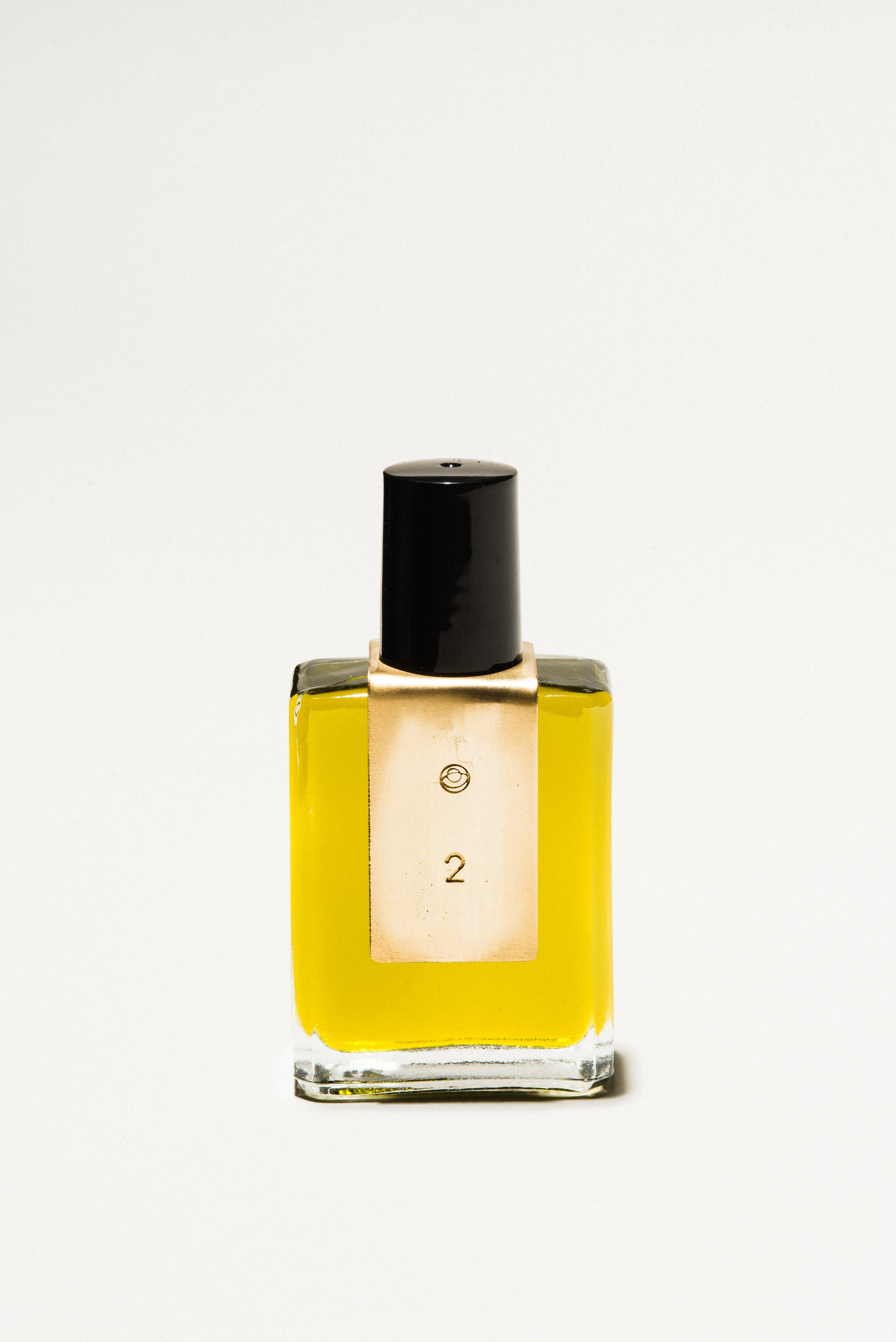Fragrance Oil No. 2 - 2 - on a blanket in the park warm beams and sweater weather15ml unisex fragrance blended in studio hand smithed label$45
