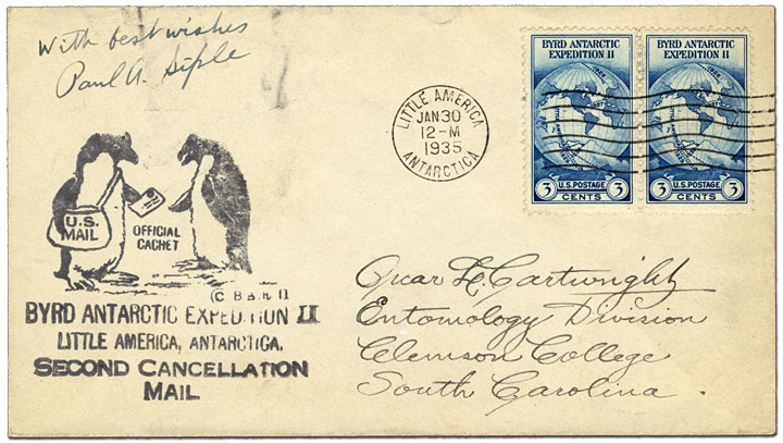 Byrd Expedition Cancellation - 1935