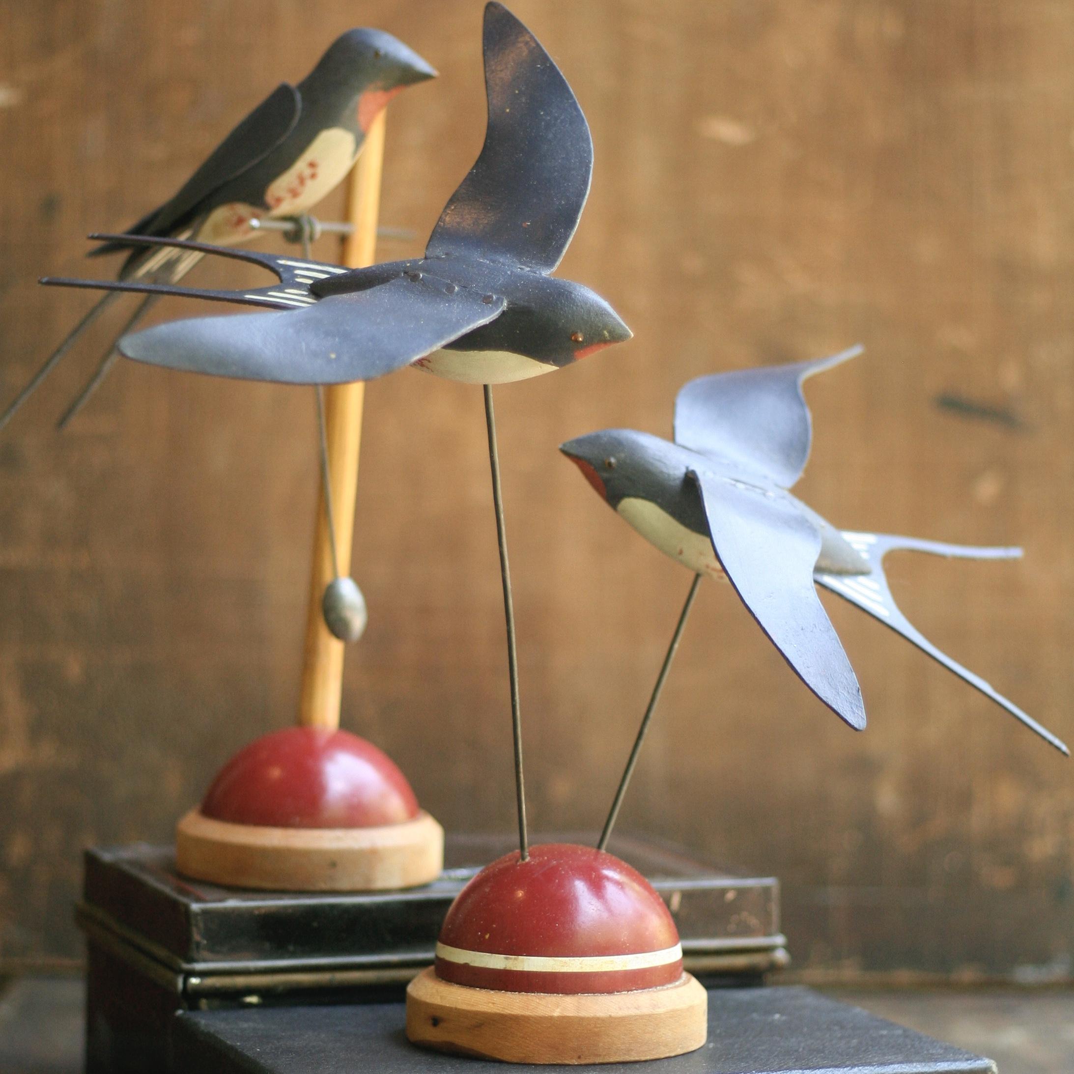 Barn Swallow Trio