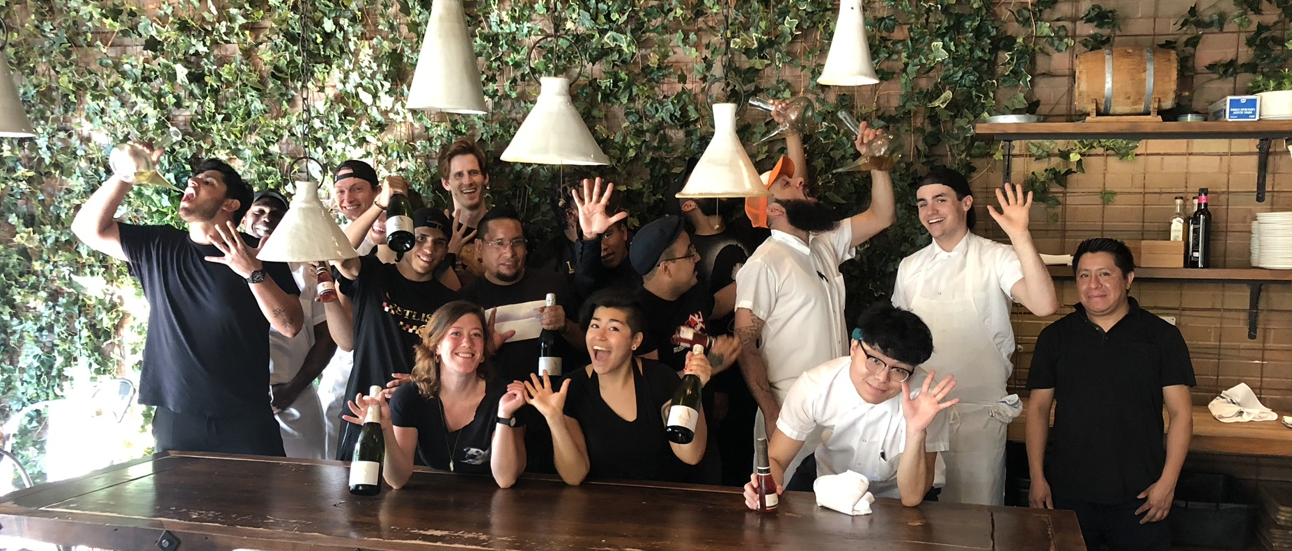 Team Toro NYC can't wait to celebrate!