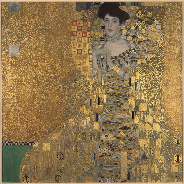ADELE BLOCH BAUER THE WOMAN IN GOLD BY KLIMT