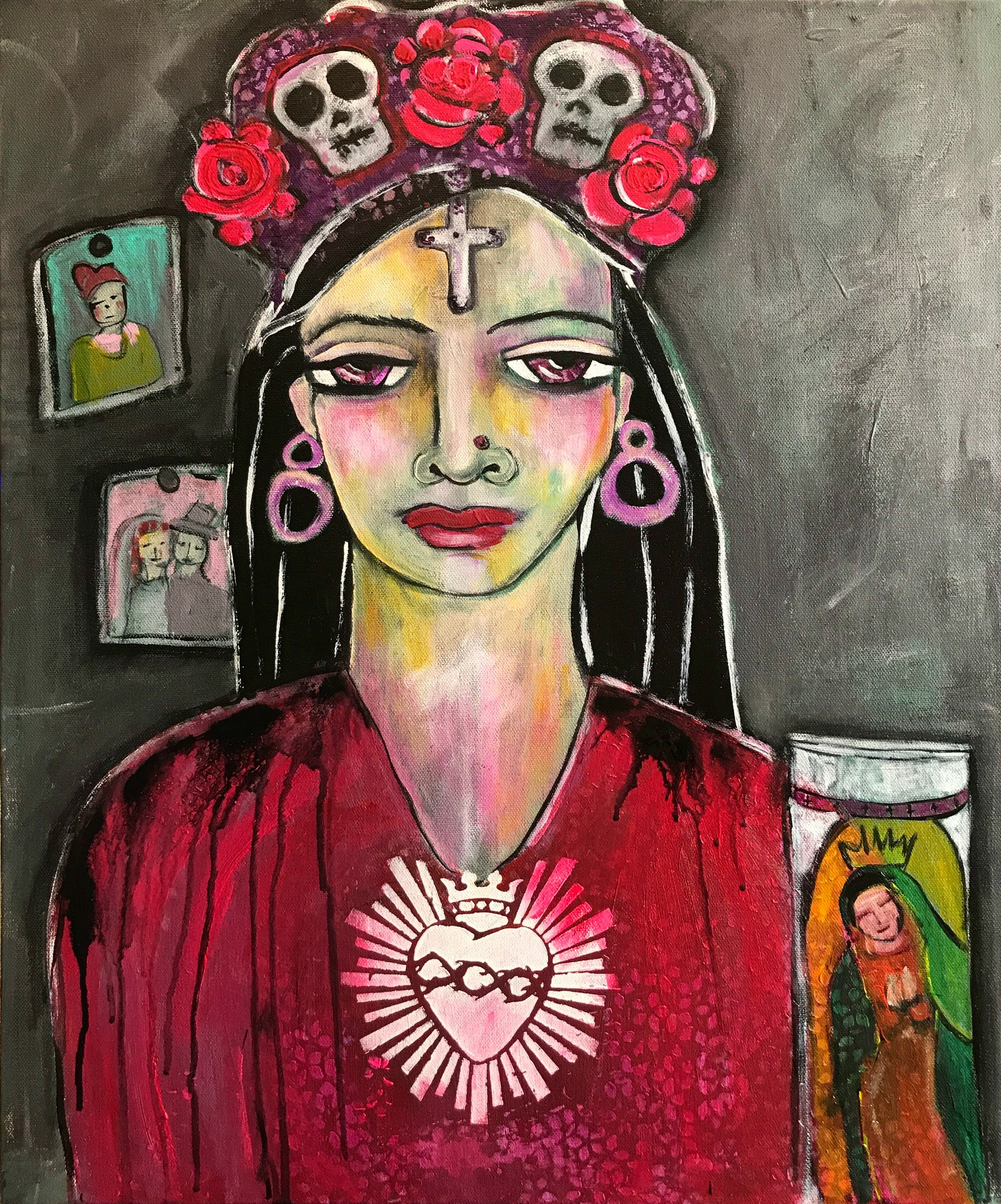 All Hallows    Acrylic on Canvas    20 x 24