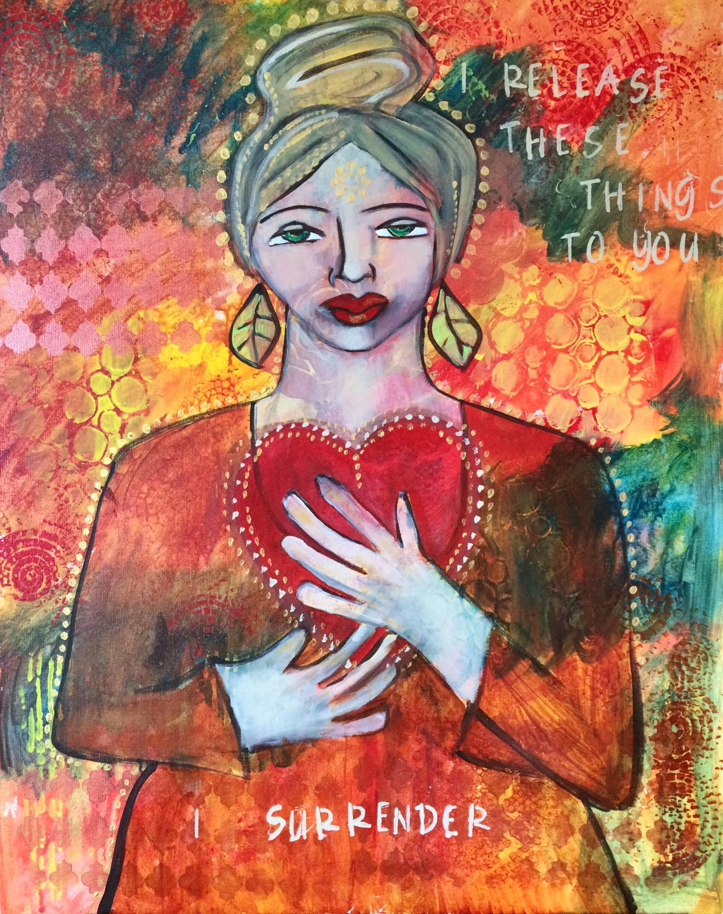 Surrender     Acrylic on Canvas     2015