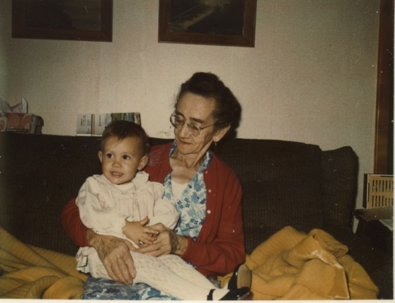 Me and my great grandmother Cora