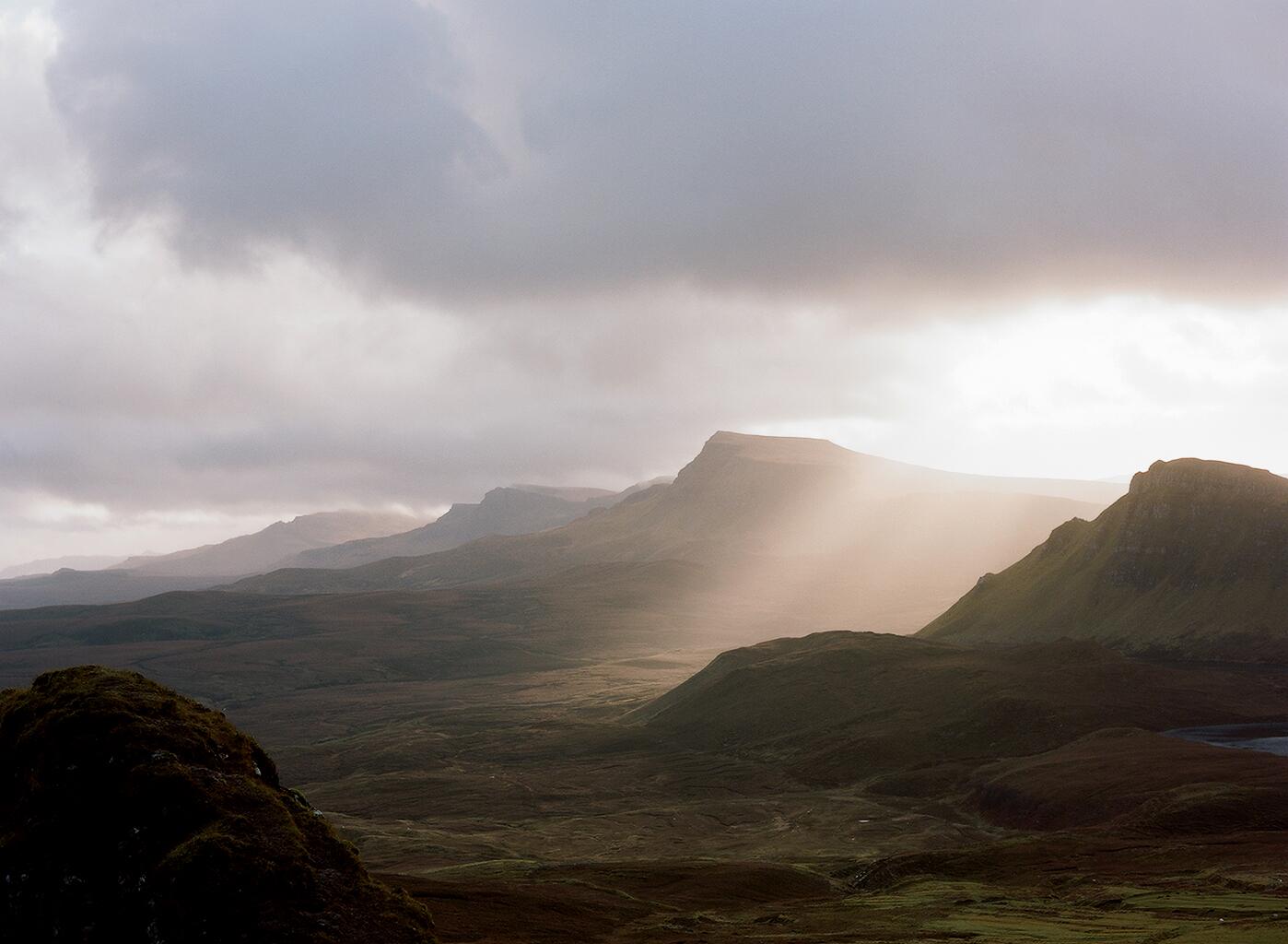 The Trotternish Ridge, Scotland.
