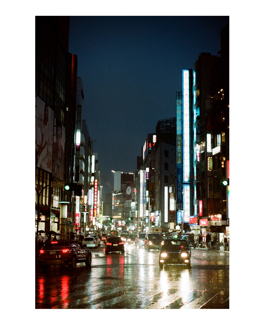 Shibuya at night, Tokyo.