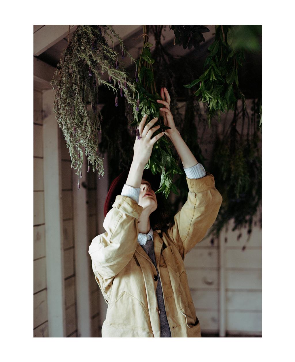 Skye, Herb Harvest, Kinfolk.