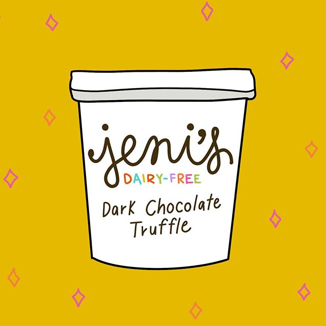 Just a little appreciation post for @jenisicecreams ✨ Thanks for making delicious, quality, dairy-free ice cream so this girl can partake in summer fun too! 🥰