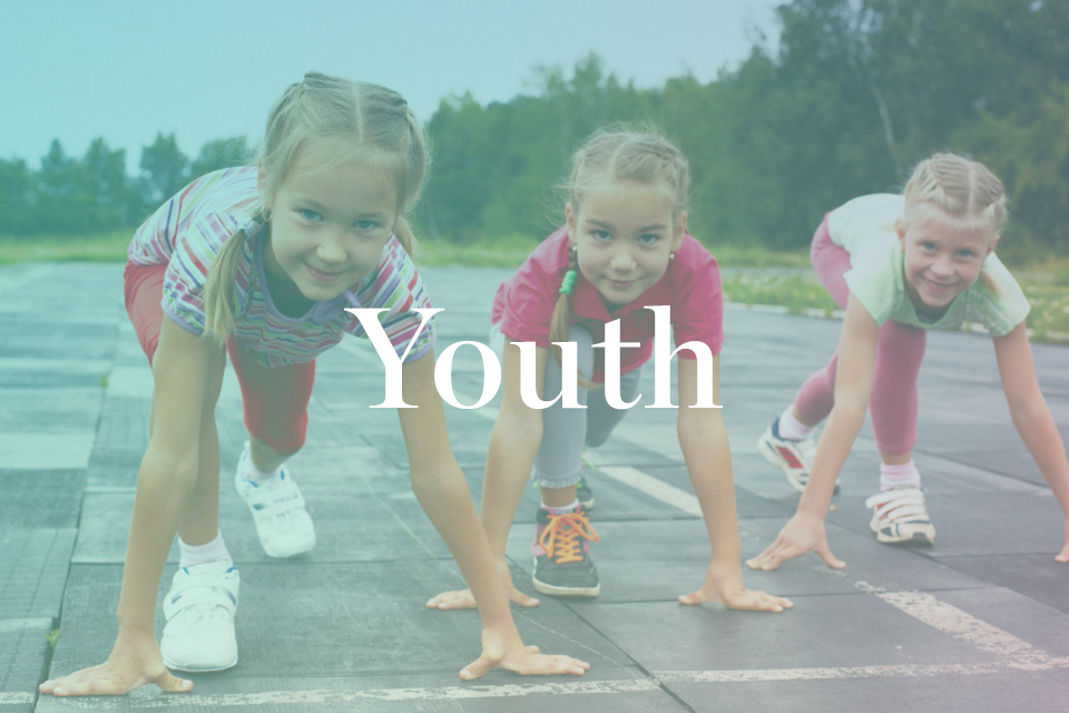 Personal and group training placing emphasis on strengthening, toning and forming the foundations for a healthy teenage life and later adulthood.