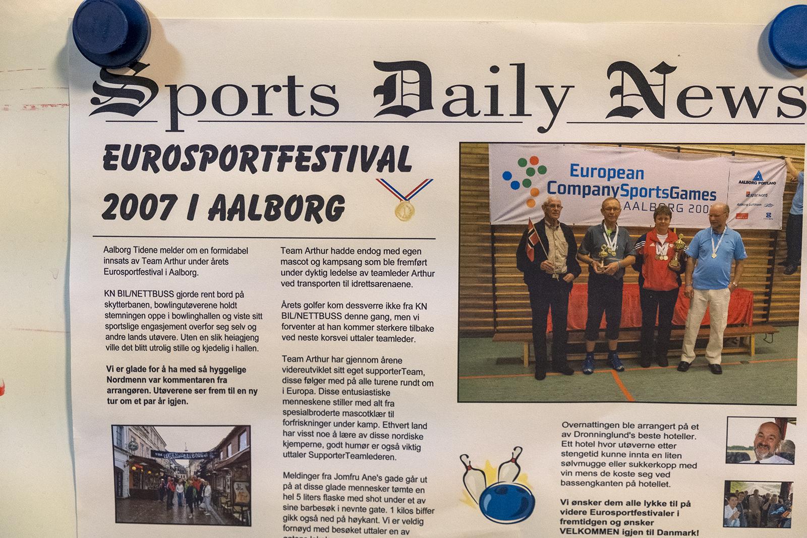 """""""Eurosportfestival"""" for bedriftsidrett arrangeres annenhvert år i forskjellige byer rundt i Europa. KNBIL's skyttere har deltatt mange ganger, og sanket premier, heder og ære!"""