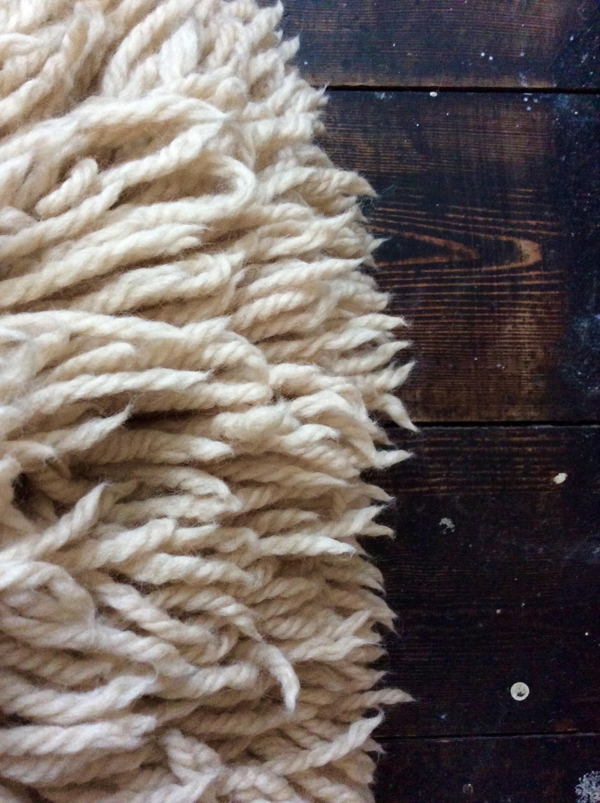 Kate Jones Shaggy cushion closeup.jpg