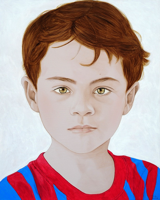 "Eduardo - Acrylic on canvas114 x 90 cm (45 x 30"")"