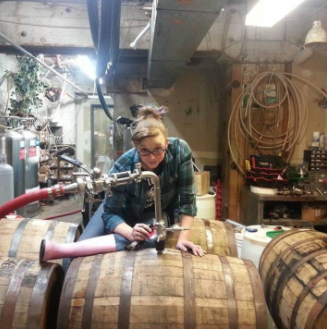 Bess Dougherty, Head Brewer at Grateful Gnome Sandwich Shoppe and Brewery