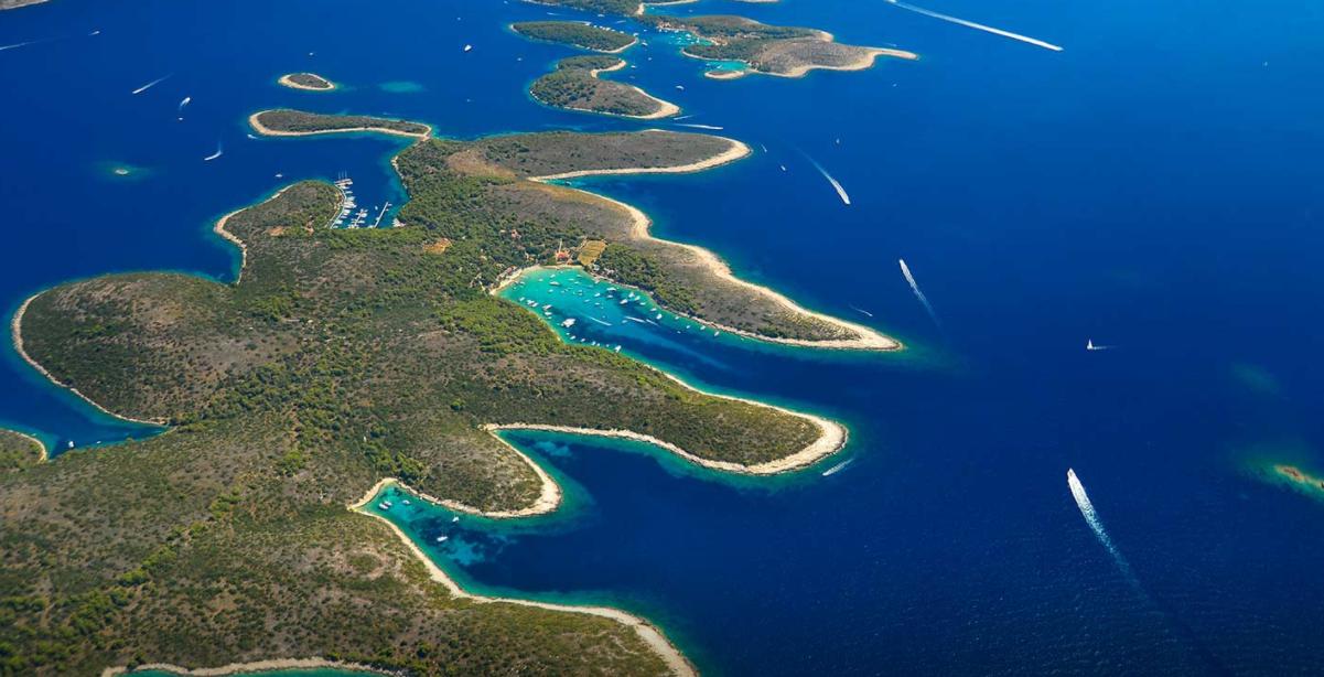Pakleni Islands of Split.