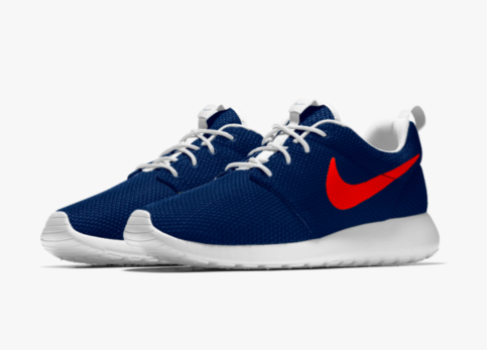 There are so many ways to customize with Nike ID. Check out these Nike Roches, all Bronco'd out!