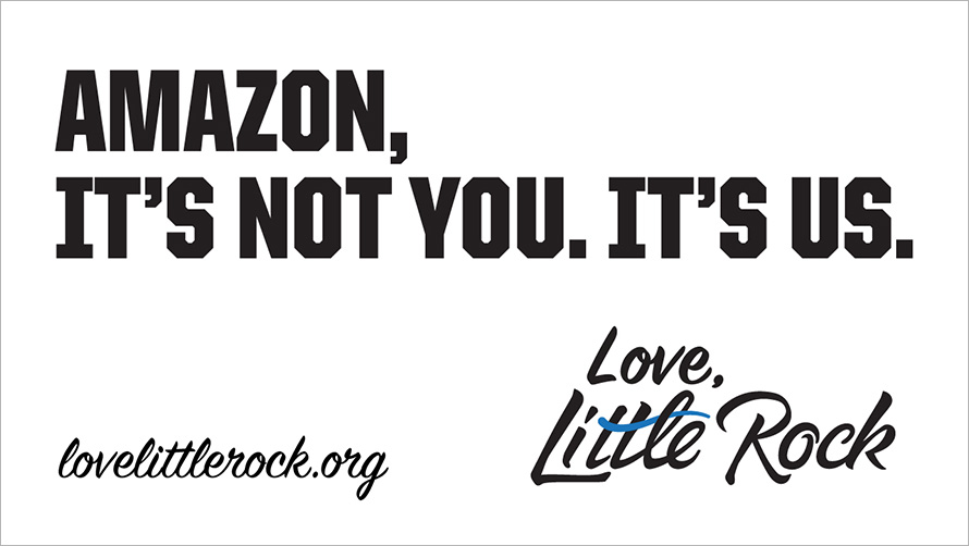 """Little Rock's """"no thanks"""" to Amazon has resulted in $2 million worth of free media coverage."""