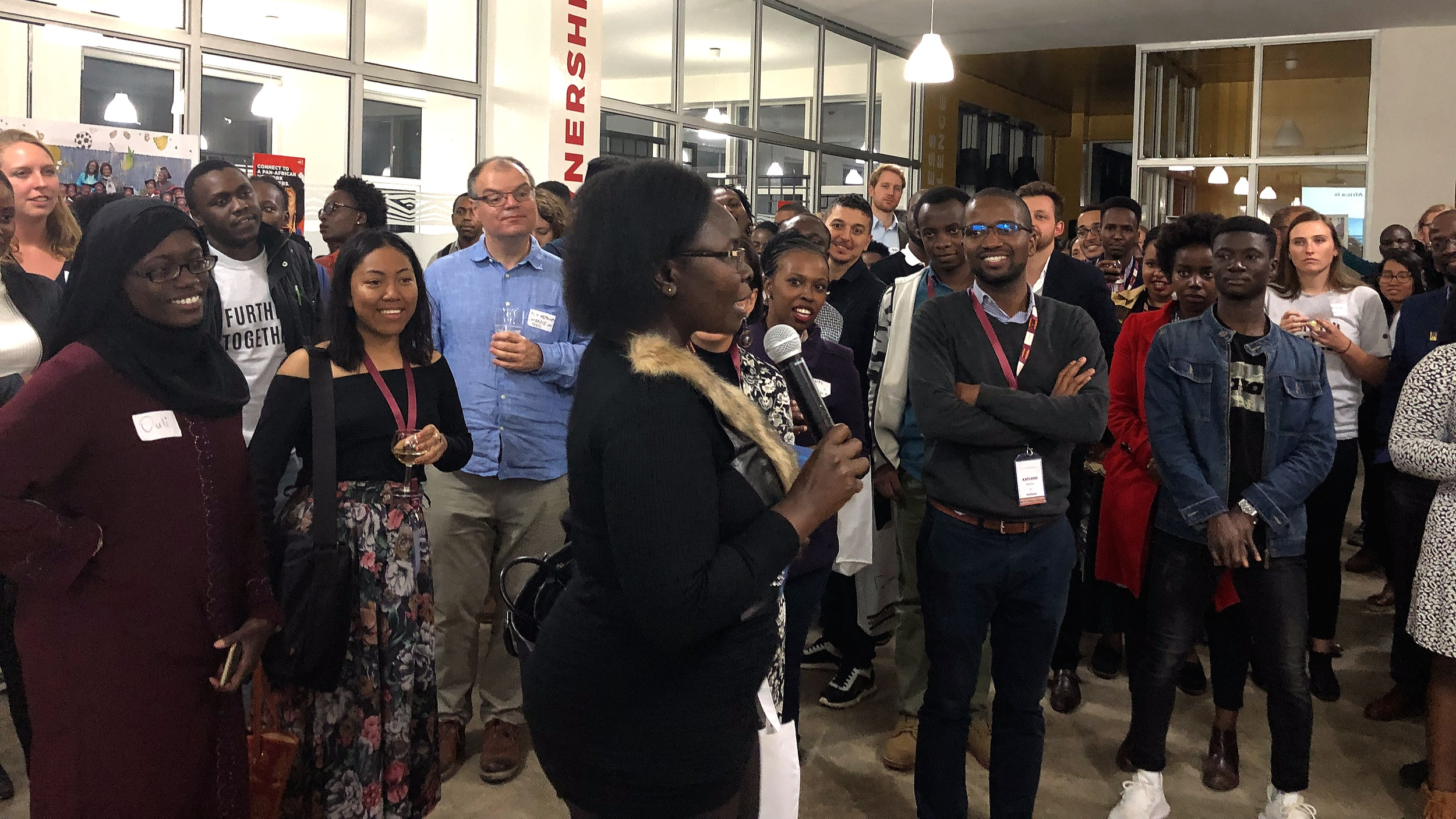 Christine Owinyi, of the government's Kenya Education Management Institute (KEMI), shares her perspective at last week's education meet-up.
