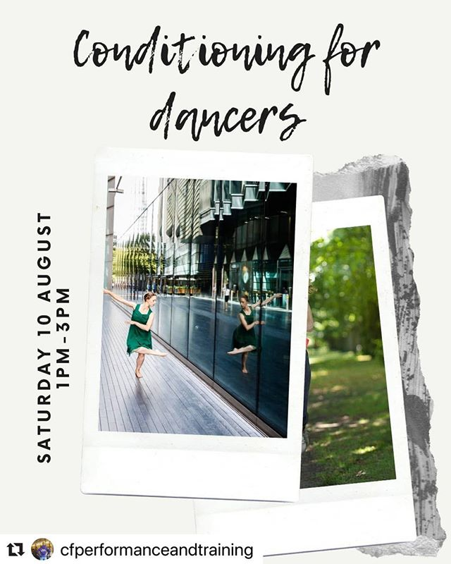 Can't wait to have @cfperformanceandtraining on our rooftop tomorrow! There are still spaces for this event, so get yourselves booked in if you haven't already! 💃  Repost: Still some places remaining on tomorrow's event! Book at bit.ly/conditioning4dancers or DM me and pay on the day. We'll be at @londonrooftopgym . £20 including free goodie bag and 4 week training programme! 💪🏻 😁 . . . . . . #dance #dancer #dancemodel #london #fitness #conditioning #training #dancersofinstagram #dancelife #ballet #hiphop #jazz #contemporarydance #dancelondon #fit #strongdancer #goodiebag #commercial #performance #personaltraining #theatre #westend