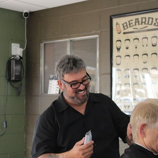 Garrick - After years in the medical field, I followed my urge to learn the art of barbering. Ever since my decision I have found happiness in a fulfilling career. Adding style and confidence to someone is truly rewarding. I also am a barber instructor helping others learn the skills to pursue a career in the art of barbering.