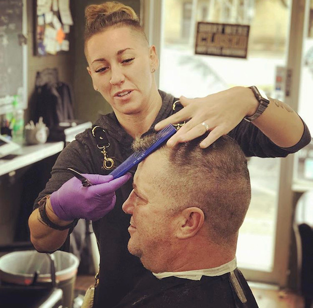 Bernie - Barbering completely transformed my life! After I left the military I had no idea what to do with my new civilian life...that is when I did what I always wanted to do, become a barber. I am passionate about my craft, you'll see it in the work I produce. Providing the classic barbershop atmosphere is important to me.