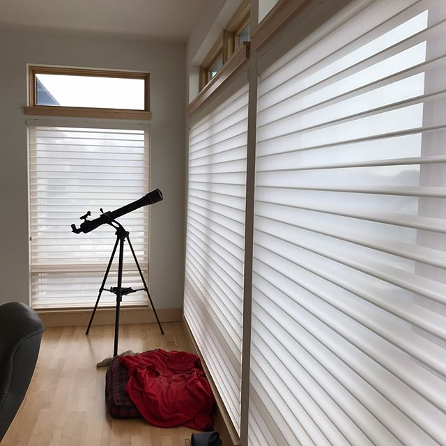 My client loved how her Hunter Douglas silhouettes gave her privacy with light filtering and a beautiful look for her room. #hunterdouglas #beautiful #homedecor #lifestyle
